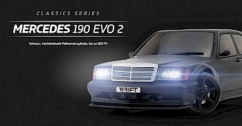 Mercedes 190 Evo 2 - Black