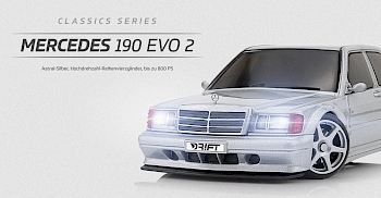 Mercedes 190 Evo 2 - Astral-Silber