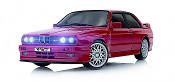 DR!FT-BMW E30 M3 - Brilliant-Rot